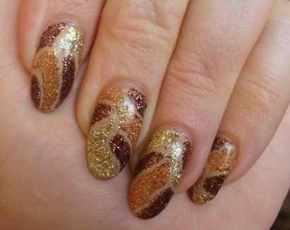 сделать рисунок на ногтях дома