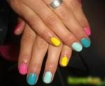 спортивные ногти фото