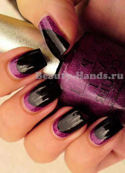модный лунный маникюр 2012