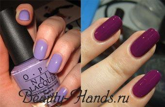 цвет лака для ногтей 2011