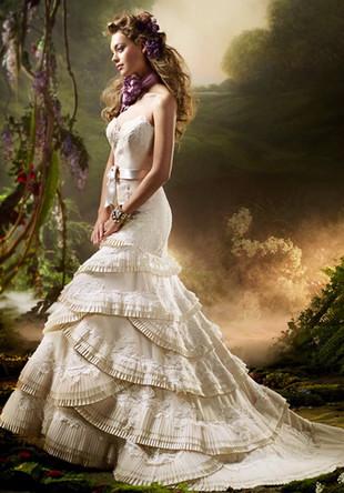 свадебный стиль 2012