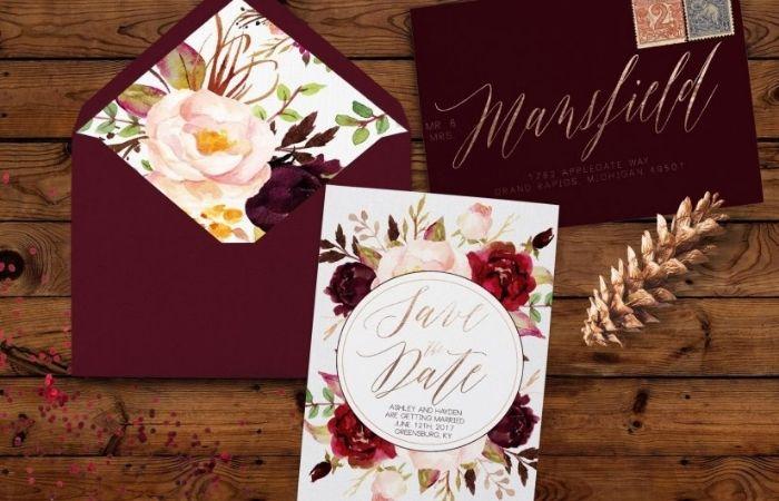 конверты для пригласительных на свадьбу