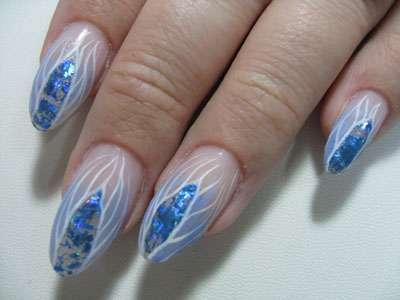ногти на новый год 2011