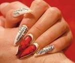 рисунки на ногтях на свадьбу