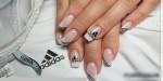спортивные рисунки на ногтях