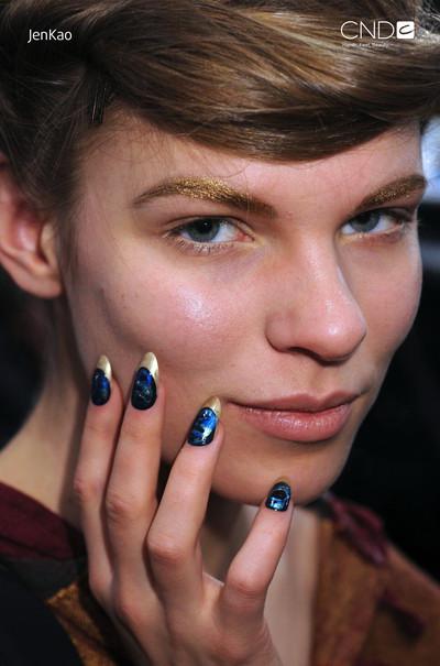 модный дизайн ногтей осень зима 2011-2012