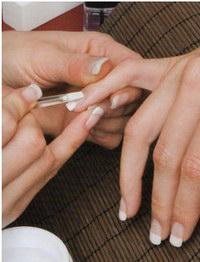 подготовка ногтей к наращиванию