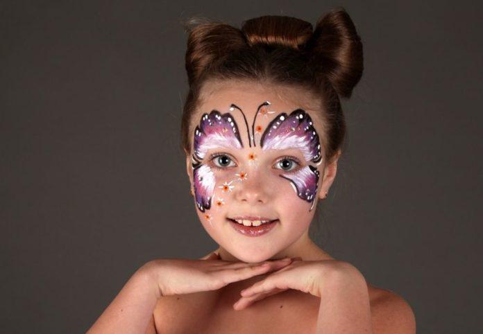 Что можно нарисовать на лице красками