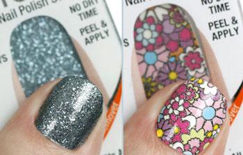 арт стикеры для ногтей