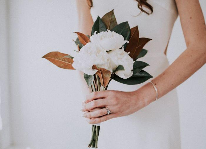 мини-букет свадебный