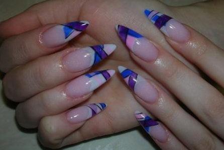 модный дизайн ногтей 2011