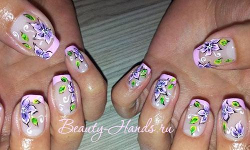 дизайн гелевых ногтей