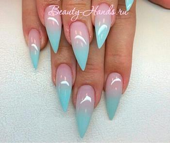 дизайн ногтей на нарощенные ногти
