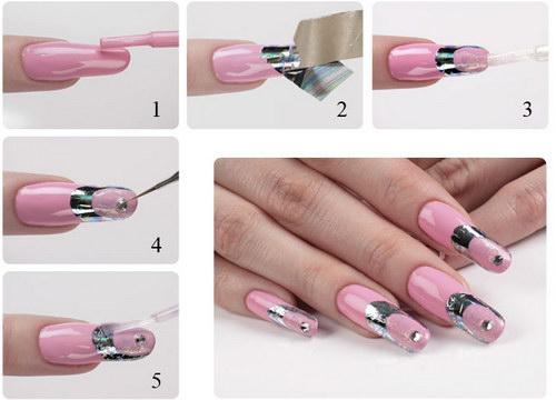 нейл арт ногтей