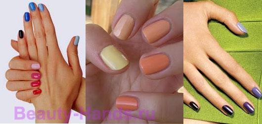модные ногти 2011