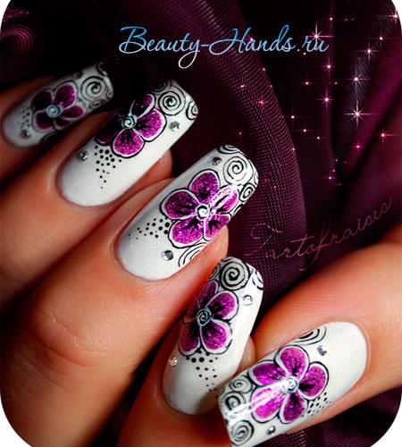 идеи для дизайна ногтей-5