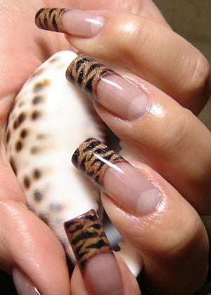тигровый френч
