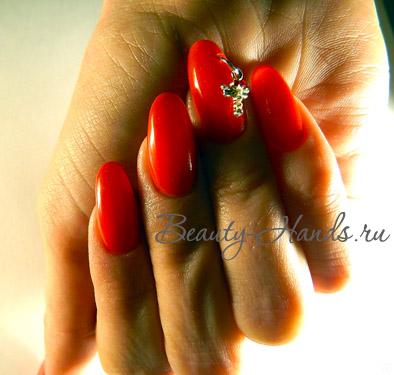 как сделать пирсинг на ногтях