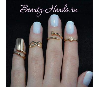 кольца для ногтей