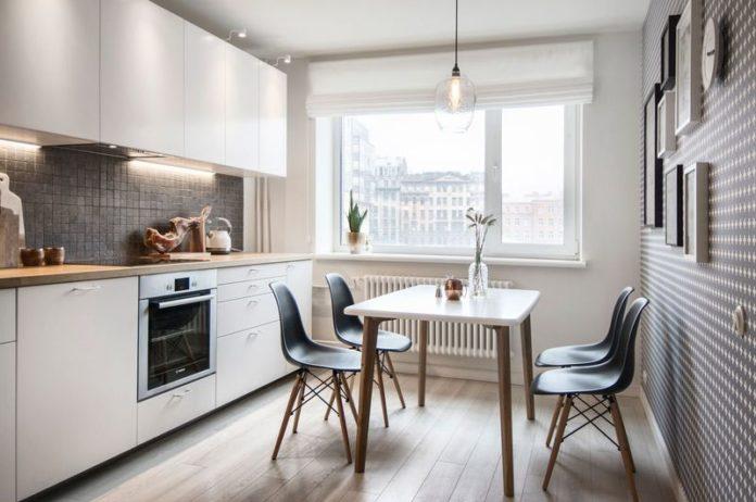 Кухни 9 кв. метров: дизайн, фото