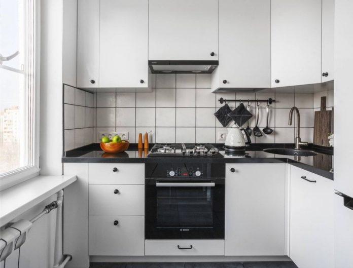 Кухонные гарнитуры для хрущевки: фото