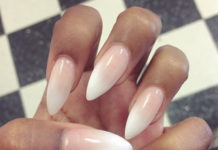 Маникюр на проблемных ногтях