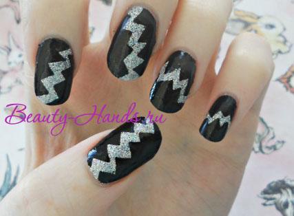фото дизайна ногтей трафареты