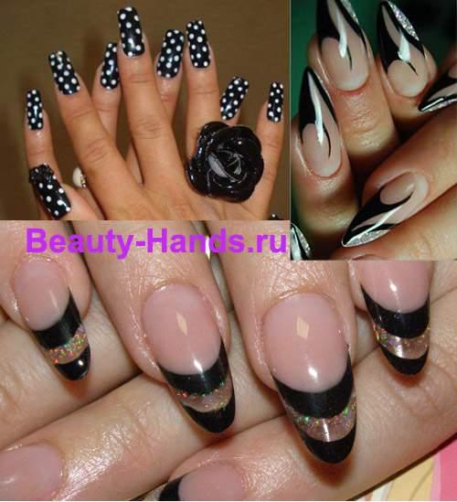 модная форма ногтей 2011