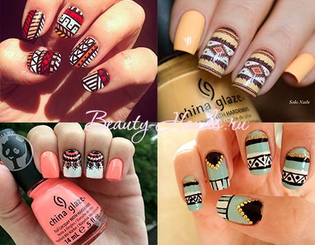 популярный дизайн ногтей 2016 года