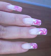 техника наращивания ногтей на типсы
