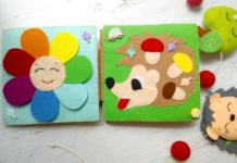 Книжки из фетра для малышей своими руками
