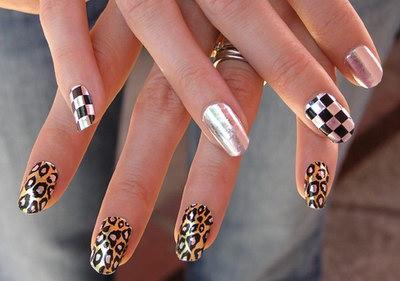 шикарные рисунки на ногтях