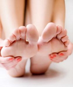 уход за стопами ног