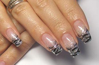 фото тигровые ногти
