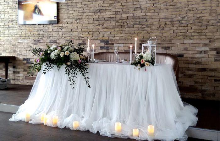 украшения зала на свадьбу