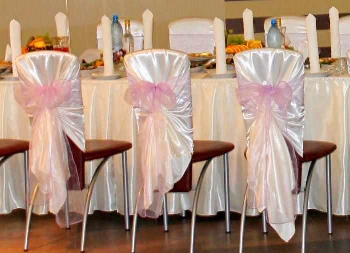 стулья на свадьбу украсить