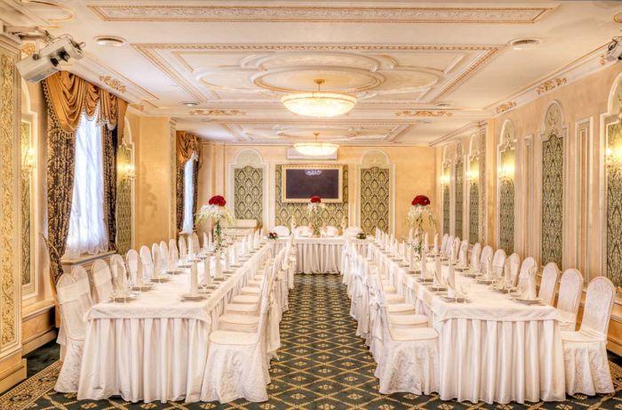 банкетный зал для свадьбы фото