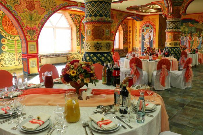 свадьба в русском стиле декор