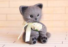 Валяние из шерсти: игрушки, милые животные
