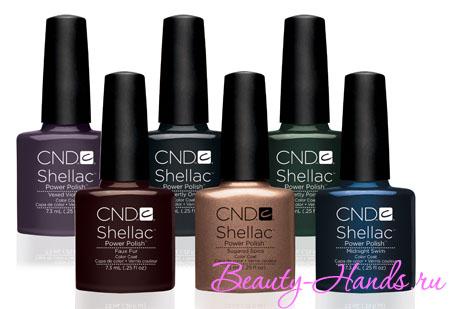 Коллекция новых оттенков Shellac CND