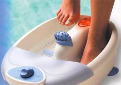 выбрать ванночку для ног