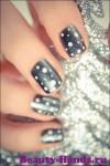зимний дизайн ногтей