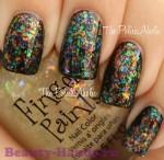 зимний дизайн ногтей фото